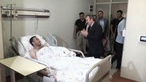 SIIRT BELEDIYESI - Terör Saldırısında Yaralanan Askere Ziyaret