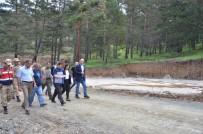Vali Arslantaş, Refahiye İlçesinde Yapımı Devam Eden Yatırımları İnceledi