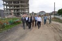 LEVENT KıLıÇ - Vali Ceylan Çorlu'da Yapımı Devam Eden Okul İnşaatlarını İnceledi