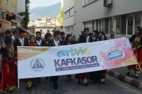 Artvin Kafkasör Festivali Boğalı Kortej Yürüyüşü İle Başladı