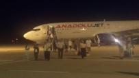 Aşırı Yağış Sebebiyle İstanbul'a İnemeyen Uçaklar Bursa'ya İndi