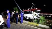 İSABEYLI - Aydın'da Otomobil Direğe Çarptı Açıklaması 1 Ölü