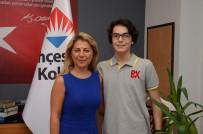 ENVER YÜCEL - Bahçeşehir Koleji Genel Müdürü Dağ, LGS Birincisini Tebrik Etti