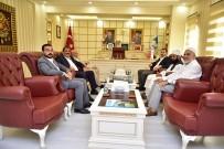 TAZİYE ZİYARETİ - Başkan Atilla'ya Tebrik Ziyaretleri