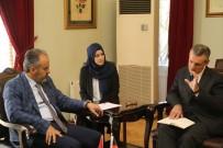 ALINUR AKTAŞ - Belçika Büyükelçisi Büyükşehir'de