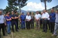 TIRMANMA DUVARI - Kapıkayafest İçin Güvenlik Toplantısı Yapıldı