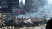 NAIROBI - Kenya'da Pazar Yerinde Yangın Açıklaması 15 Ölü