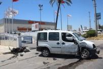 UZMAN ERBAŞ - Manavgat'ta Motosiklet Kazası Açıklaması1 Yaralı