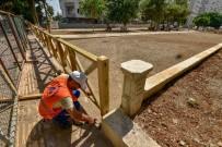 KALDIRIM ÇALIŞMASI - Meltem'deki Park Çalışmalarında Sona Gelindi
