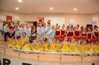Minik Balerinler Sahne Performanslarıyla Göz Doldurdu