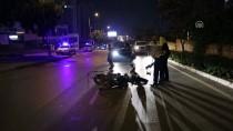 Ters Şeritte Giden Motosiklet Otomobille Çarpıştı Açıklaması 1 Yaralı
