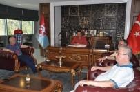HEKIMOĞLU - Trabzonspor Yönetim Kurulu'ndan Hekimoğlu Trabzon'a Ziyaret
