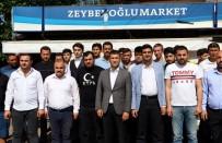 ÜLKÜ OCAKLARı - Türk Bayrağın Asılı Olduğu Market Saldırısına Ülkücülerden Sert Tepki