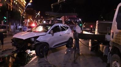 Uşak'ta Trafik Kazası Açıklaması 5 Yaralı