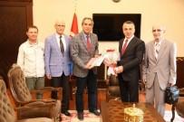 CEMİL ÇİÇEK - Vali Osman Bilgin'e Ziyaretler Devam Ediyor
