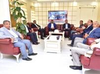 TAZİYE ZİYARETİ - Akçakale Belediye Başkanı Ayhan'dan Başkan Atilla'ya Ziyaret