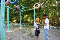 KORAY AYDIN - Arapgir'de Zipline Sezonu Başladı