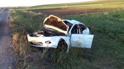 Baba İle Kızını Trafik Kazası Ayırdı