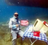 DALYAN - Dalgıçlar Deniz Dibine Çalışma Ofisi Kurdu