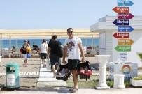 MESCID - EKDAĞ Lara Plajına Yoğun İlgi