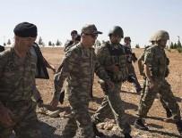 KUVVET KOMUTANLARI - Genelkurmay Başkanı Orgeneral Akar Suriye sınırında