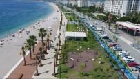 KONYAALTI SAHİLİ - Konyaaltı Sahili'ne Ücretsiz Ring Servisi Başlatıldı