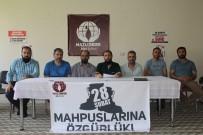 28 ŞUBAT - Mazlumder Ağrı Şubesi 28 Şubat Mağdurları İçin Basın Açıklaması Yaptı