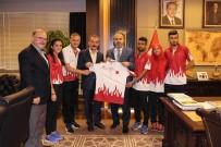 ALINUR AKTAŞ - Milli Sporculardan Başkan Aktaş'a Ziyaret