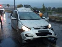 MEHMET CEYLAN - Operasyona Giden Polis Aracı Kaza Yaptı Açıklaması 3 Polis Yaralı