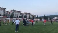 HASAN CAN - Şampiyonun Penaltılarla Belli Olduğu Maç Sonunda Tekmeli Tokatlı Kavga