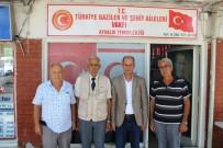 GÖNÜL KÖPRÜSÜ - Şanlıurfalı Gazilerden Ayvalıklı Gazilere Anlamlı Ziyaret