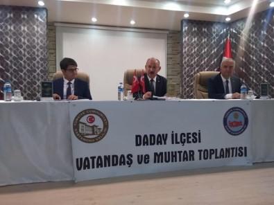 Vali Karadeniz, Daday'da Halk Toplantısına Katıldı