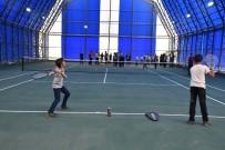 Yüksekova'da İlk Defa Tenis Kortu Açıldı