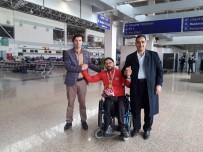 AVRUPA ŞAMPİYONU - Avrupa Şampiyonu Gökhan Seven Memleketi Erzurum'da Karşılandı