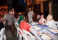 CIHANGIR - Beyoğlu'nda Sokaklar İftar Sofraları İle Rengarenk