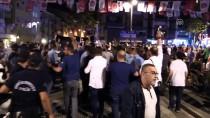 Bursa'da Parti Bayrağı Asma Gerginliği
