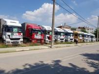 NIHAT ÖZTÜRK - Bursa'dan Suriye'ye 9 Tır Gıda Yardımı