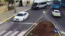 El Frenini Çekmeyen Sürücü Trafiği Birbirine Kattı