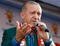 CANLI KALKAN - Erdoğan: 53 kardeşimin kanı Demirtaş'ın eline bulanmıştır