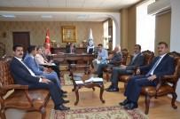 İLYAS ÇAPOĞLU - Erzincan Üniversitesinde 'Kalite Güvence Sistemi Ve Dış Paydaşlar' Toplantısı