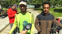 SIBIRYA - Hayvan Hakları İçin 'İki Pedal Dört Pati' Yoldalar