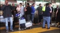 HAVAYOLU ŞİRKETİ - İki Kez Havalanan Uçak, Atatürk Havalimanı'na Geri Döndü