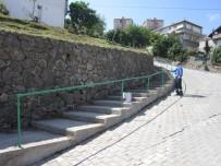 ALIKAHYA - İzmit'te Çevre Düzenlemeleri Sürüyor