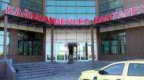 CIHANGIR - Kars'ta Maganda Kurşunu İsabet Eden İşçi Yaralandı