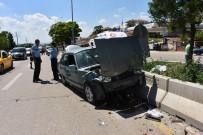 Kırıkkale'de Otomobiller Çarpıştı Açıklaması 3 Yaralı