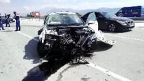 ERENTEPE - Konya'da İki Otomobil Çarpıştı Açıklaması 7 Yaralı