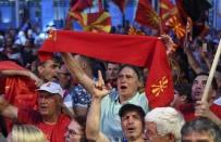 İSİM DEĞİŞİKLİĞİ - Makedonya'da 'İsim Sorunu' Protesto Edildi