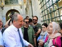 MİDE AMELİYATI - Muharrem İnce Eyüp Sultan Türbesi'ni ziyaret etti