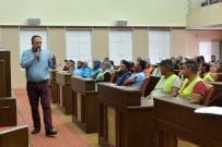 İŞ SAĞLIĞI - Temizlik İşleri Personeline İş Güvenliği Eğitimi