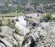 BOMBA İMHA UZMANI - Teröristlerin Tuzakladığı 200 Kilo Patlayıcı İmha Edildi